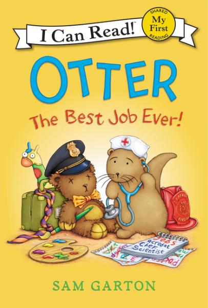 Otter: The Best Job Ever! llama llama wakey wake