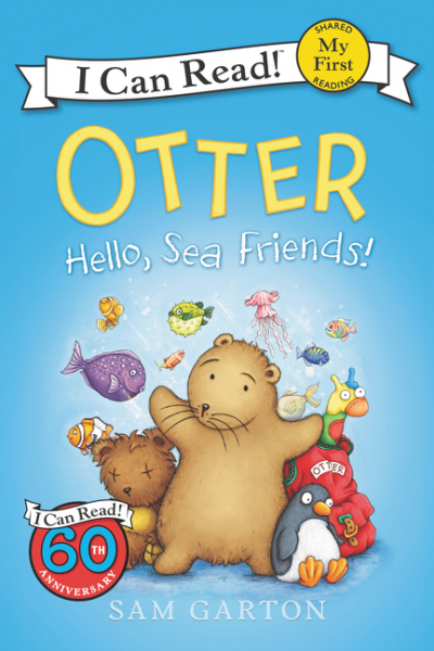 Otter: Hello, Sea Friends! baricco a ocean sea