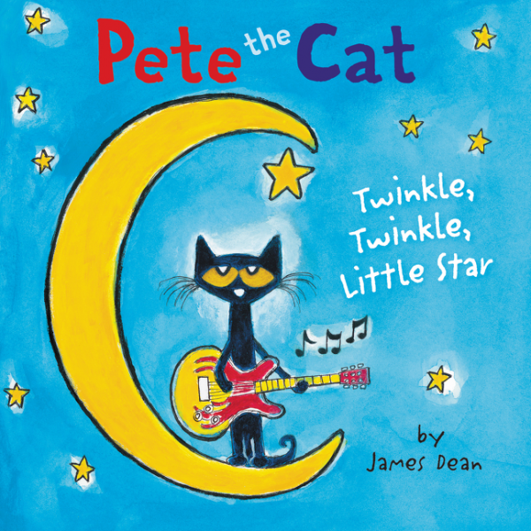 Pete the Cat: Twinkle, Twinkle, Little Star Board Book the little book of batman