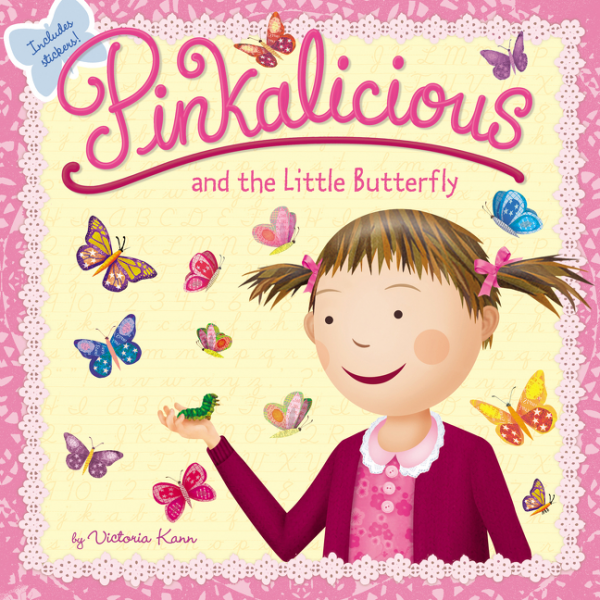 Pinkalicious and the Little Butterfly гвоздики the xi che magic butterfly whispers