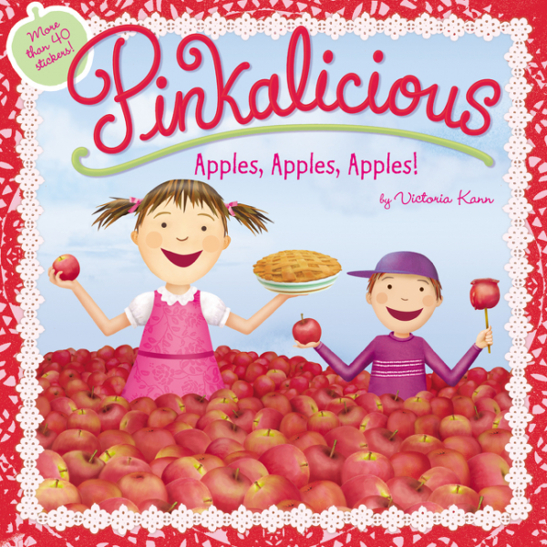 Pinkalicious: Apples, Apples, Apples! the golden apples
