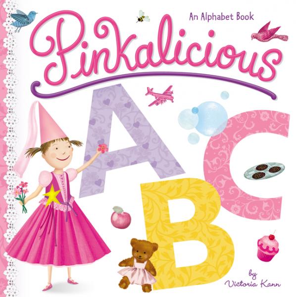 Pinkalicious ABC abc board 5wwm 78