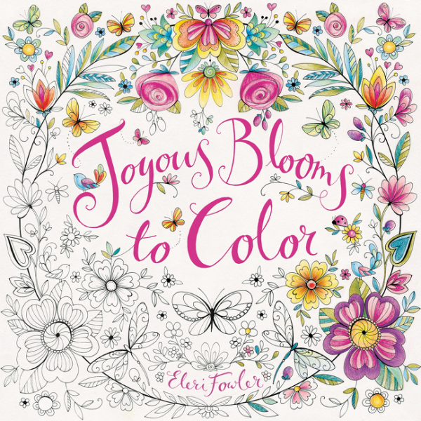 Joyous Blooms to Color color the classics anne of green gables a coloring book visit to avonlea