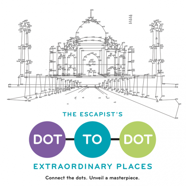The Escapist's Dot-to-Dot: Extraordinary Places fantastic cities a coloring book of amazing places real and imagined