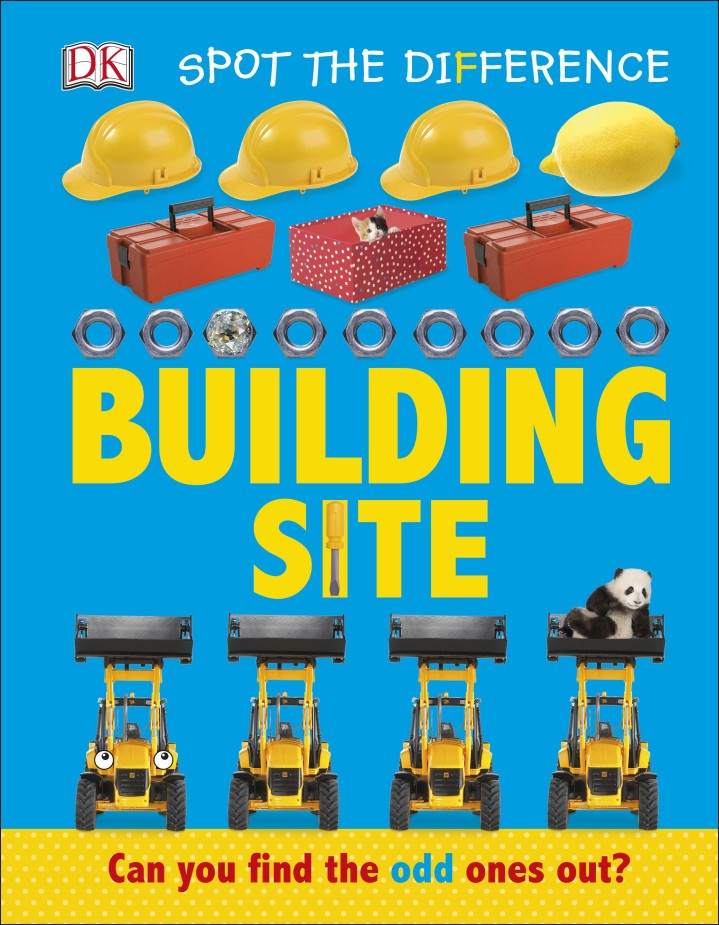 Spot the Difference Building Site 50 things to spot in london набор из 52 карточек