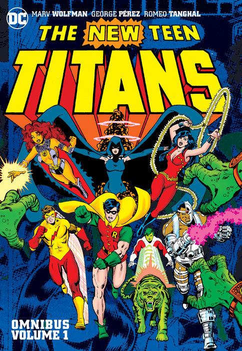 New Teen Titans Vol. 1 Omnibus wood dick original daredevil arch vol 1