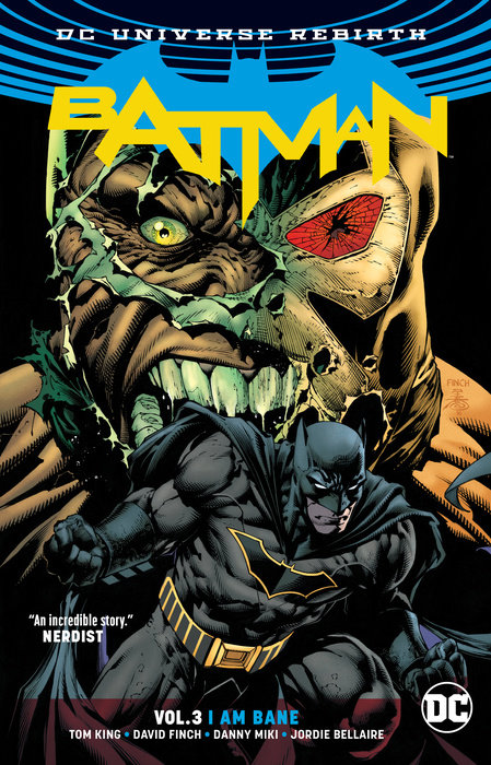 Batman: Volume 3: I Am Bane a cat a hat and a piece of string
