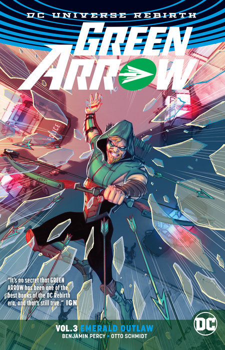 crosman vigilante Green Arrow Vol. 3: Emerald Outlaw (Rebirth)