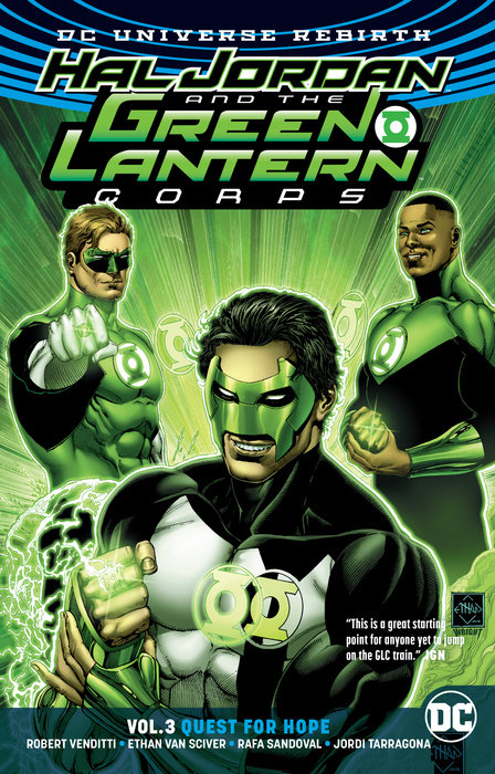 Hal Jordan and the Green Lantern Corps Vol. 3: Quest for Hope (Rebirth) green arrow vol 3 emerald outlaw rebirth