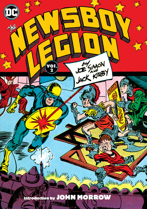 The Newsboy Legion by Joe Simon & Jack Kirby Vol. 2 oliver simon fbp federal bureau of physics vol 4
