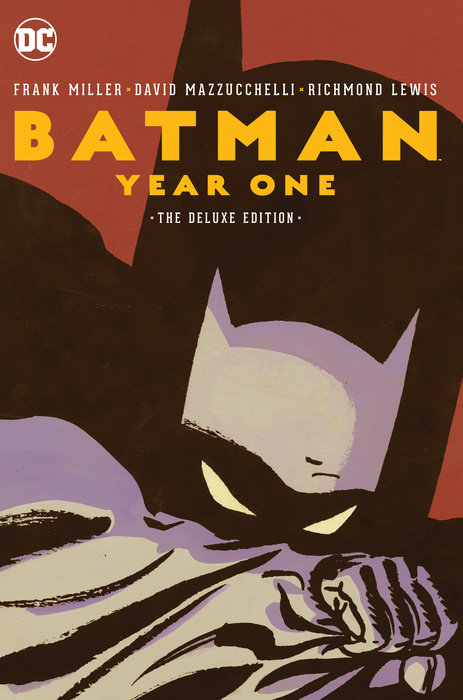 Batman: Year One Deluxe Edition miller frank batman dkr deluxe