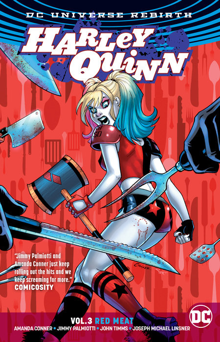 Harley Quinn Vol. 3: Red Meat (Rebirth) wonder woman vol 3 the truth rebirth