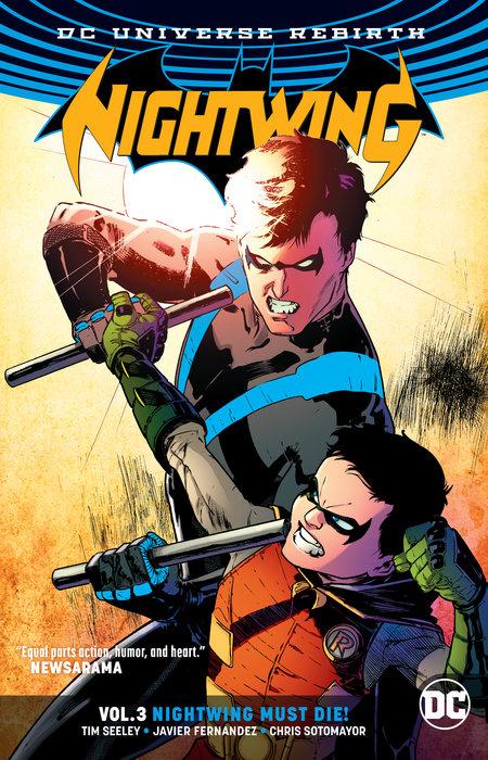 Nightwing Vol. 3: Nightwing Must Die (Rebirth) wonder woman vol 3 the truth rebirth