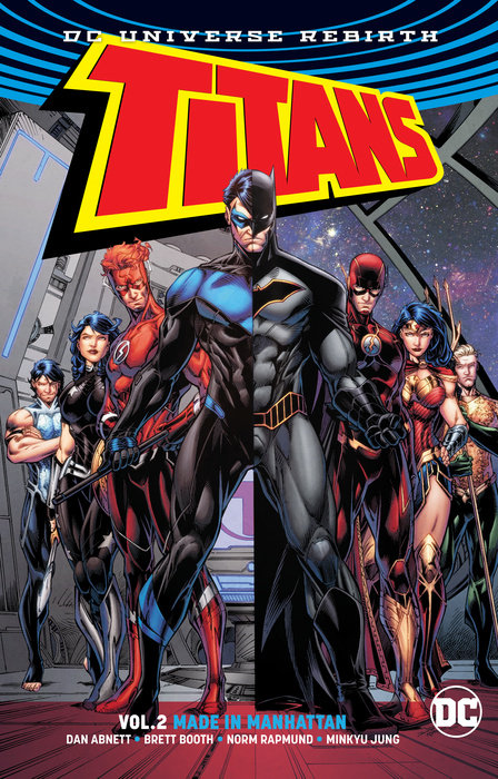 Titans: Volume 2: Made in Manhattan the tempest nce