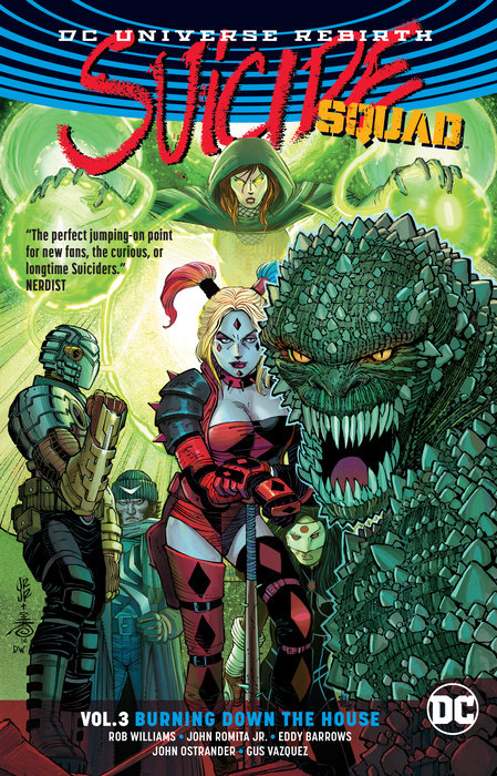 Suicide Squad Vol. 3: Burning Down The House (Rebirth) suicide squad vol 5 apokolips now