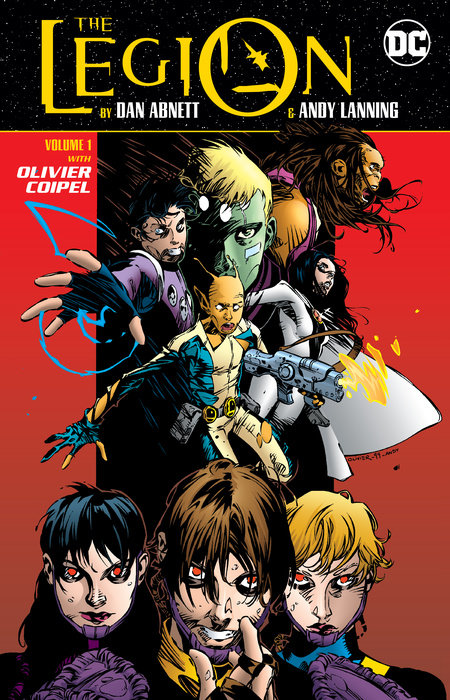 The Legion by Dan Abnett and Andy Lanning Vol. 1 lanning andy new mutants