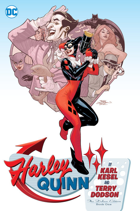 Harley Quinn By Karl Kesel And Terry Dodson: The Deluxe Edition Book One the invisibles the deluxe edition book four