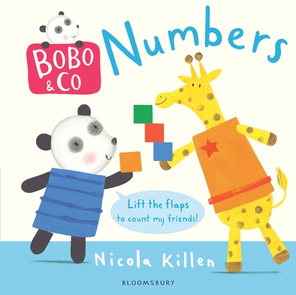 Bobo & Co. Numbers supermarket gremlins lift the flaps book