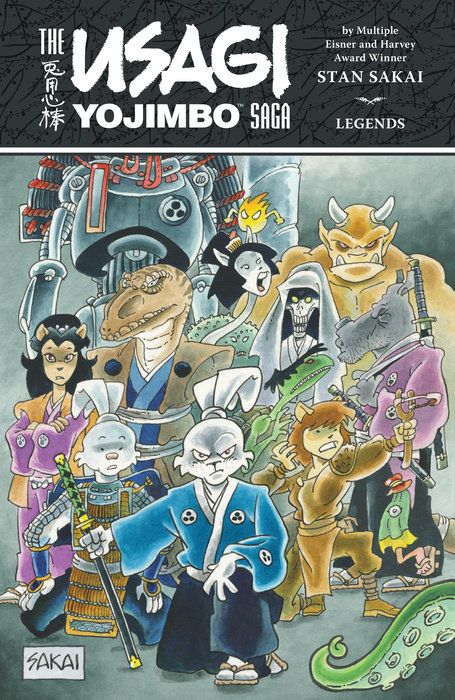 The Usagi Yojimbo Saga: Legends usagi yojimbo volume 31 the hell screen