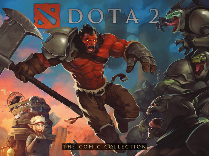 DOTA 2: The Comic Collection dire straits dire straits on every street 2 lp