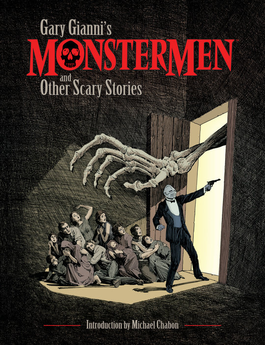 Gary Gianni's Monstermen and Other Scary Stories gary ecco