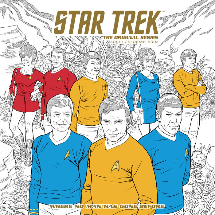 где купить Star Trek: The Original Series Adult Coloring Book - Where No Man Has Gone Before по лучшей цене