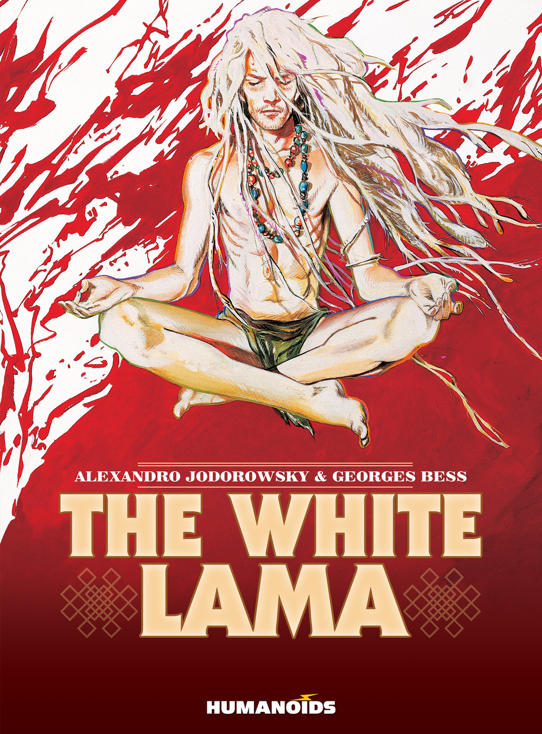 The White Lama the complete green lama featuring the art of mac raboy volume 1