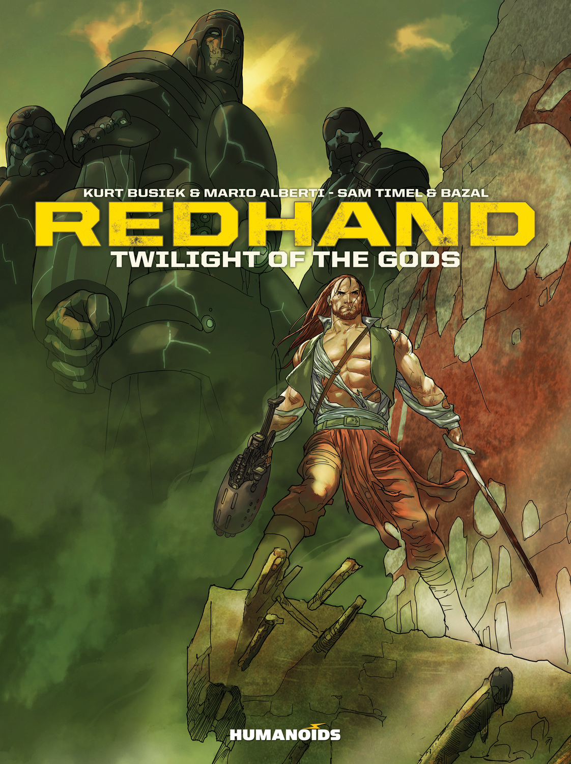 Redhand: Twilight of the Gods a caress of twilight