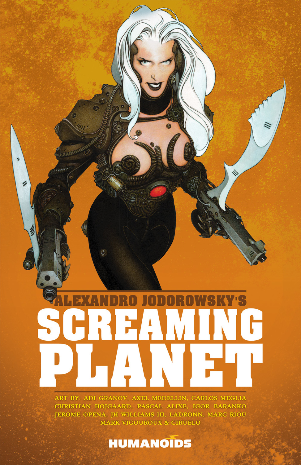 Jodorowsky's Screaming Planet michael burns digital sci fi art