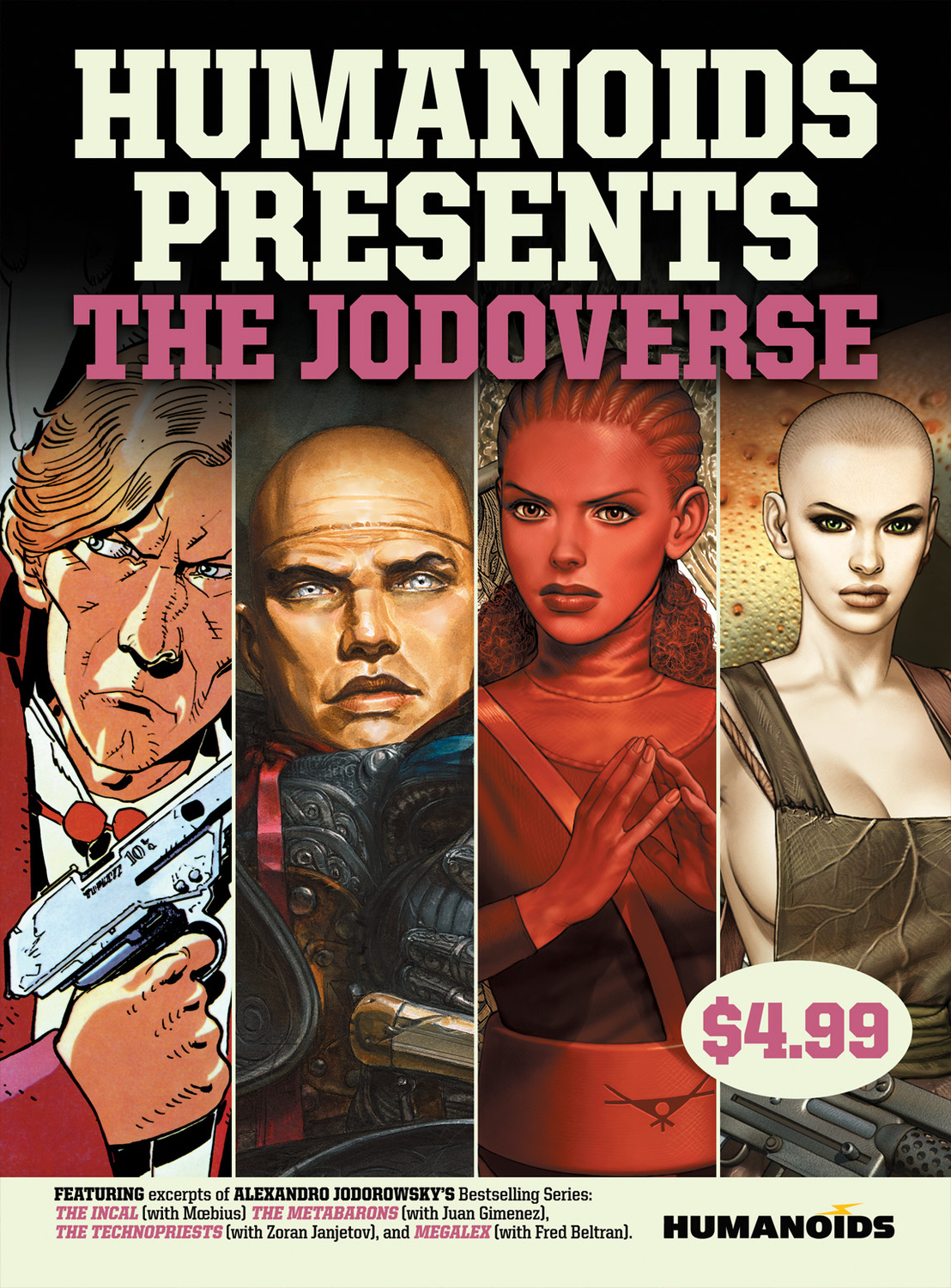 Humanoids Presents: The Jodoverse the technopriests