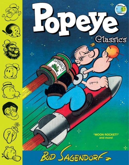 Popeye Classics, Vol. 10 Moon Rocket And More толстовка wearcraft premium унисекс printio моряк попай popeye the sailor