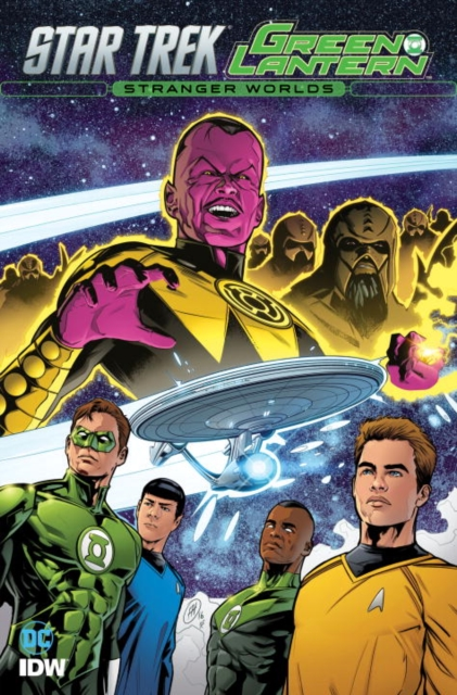 Star Trek: Green Lantern: Vol. 2: Stranger Worlds herbert george wells the war of the worlds