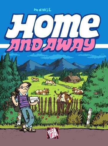 Home and Away jerry and the joker adventures and comic art