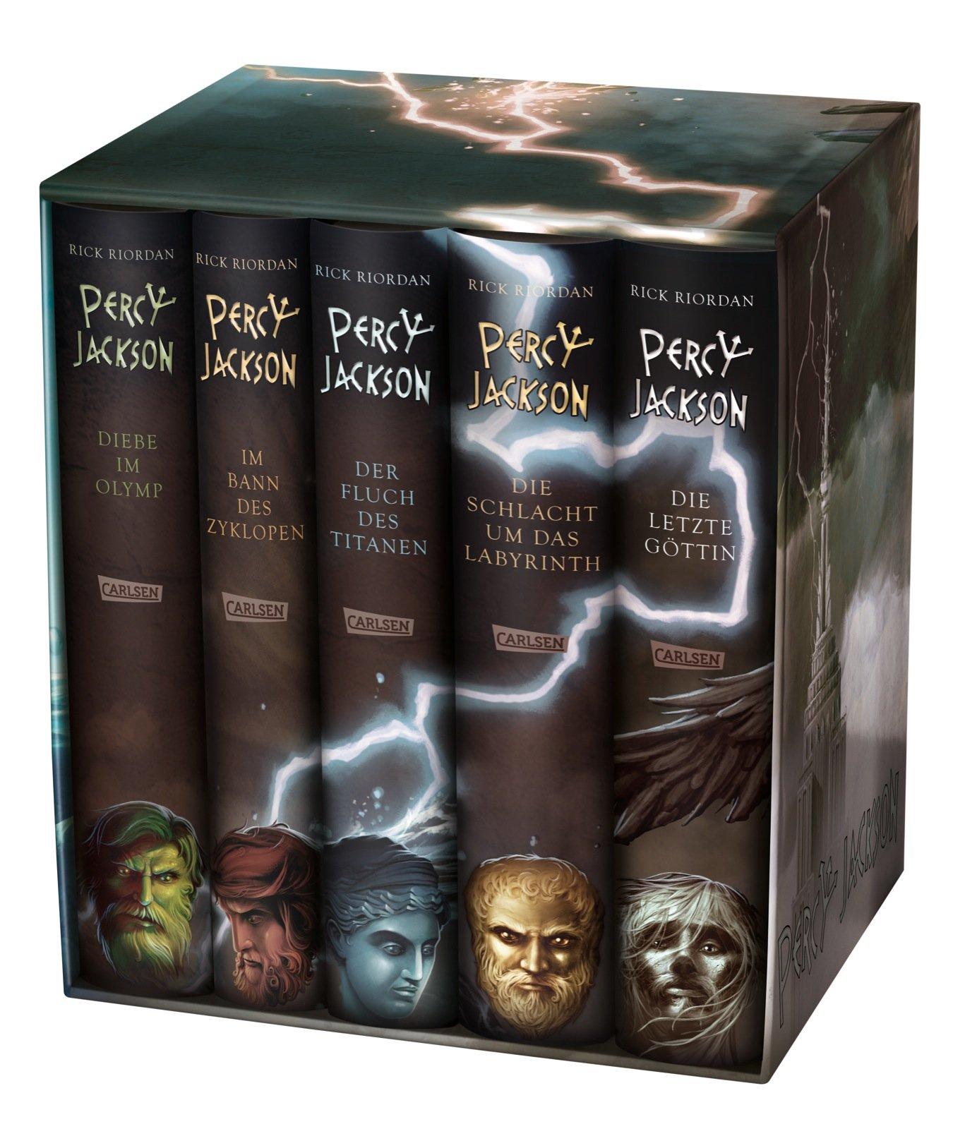 Percy Jackson, 5 Bde. gott ist der waisen vater