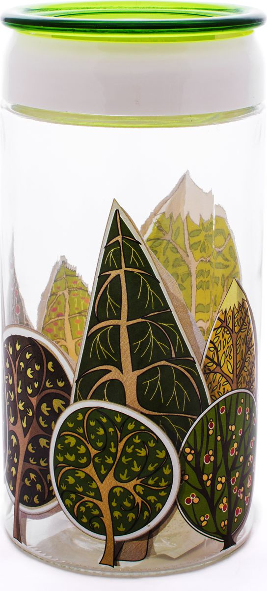 """Банка для хранения """"Louis Gourmet"""" выполнена из прочного стекла, имеет эргономичный дизайн."""