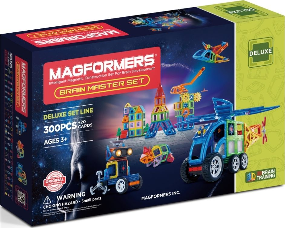 Magformers Магнитный конструктор Brain Master Set brave new brain