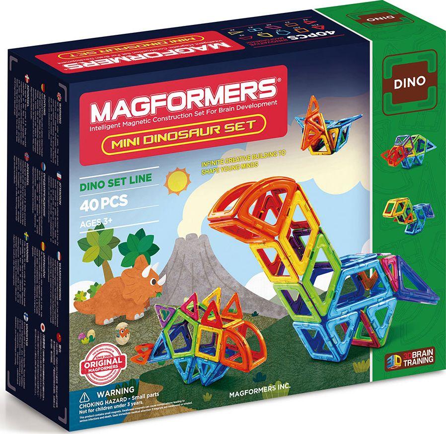 Magformers Магнитный конструктор Mini Dinosaur Set библия пересказанная детям старшего возраста