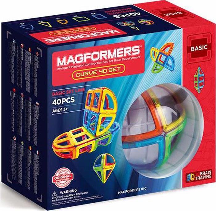 Magformers Магнитный конструктор Curve 40 Set библия пересказанная детям старшего возраста