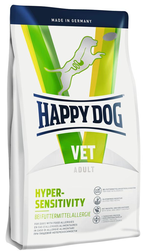 Корм сухой Happy Dog  Hypersensitivity  для собак с пищевой аллергией, 1 кг