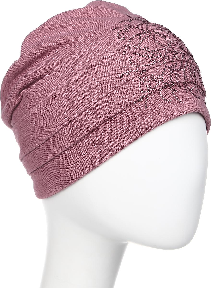 Шапка женская Level Pro Вальс 2, цвет: темно-розовый. 404554. Размер 56/58404554Яркий и стильный головной убор не только станет прекрасным дополнением Вашего образа, но и согреет в холода. Оттенок и детали изделия могут отличаться от фотографии.