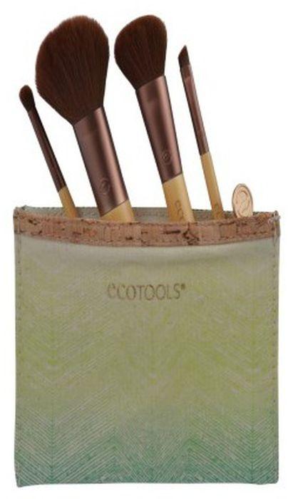 EcoTools Набор кистей для макияжа Five Piece Travel Set дорожный набор кистей для макияжа