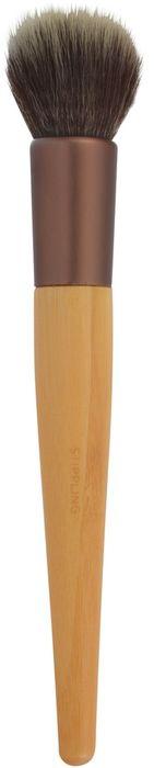 EcoTools Кисть для нанесения тональной основы Stippling Brush1293MСпециальная кисть из дуофибры позволяет легко растушевать тональное средство, добиваясь невесомого равномерного покрытия. Изготовлена из мягкого ворса, перерабатываемого алюминия и бамбуковой ручки.