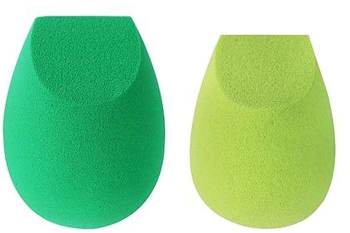 EcoTools Набор спонжей для макияжа Perfecting Blender Duo1616MСпонжи Perfecting Blender Duo разработаны для создания безупречного макияжа. Большой спонж более мягкий и гибкий для создания легкого покрытия. Маленький спонж подойдет для детальной проработки макияжа.