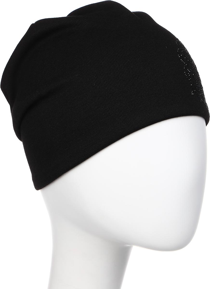 Шапка женская Level Pro Легион 2, цвет: черный. 404566. Размер 56/58404566Яркий и стильный головной убор не только станет прекрасным дополнением Вашего образа, но и согреет в холода. Оттенок и детали изделия могут отличаться от фотографии.