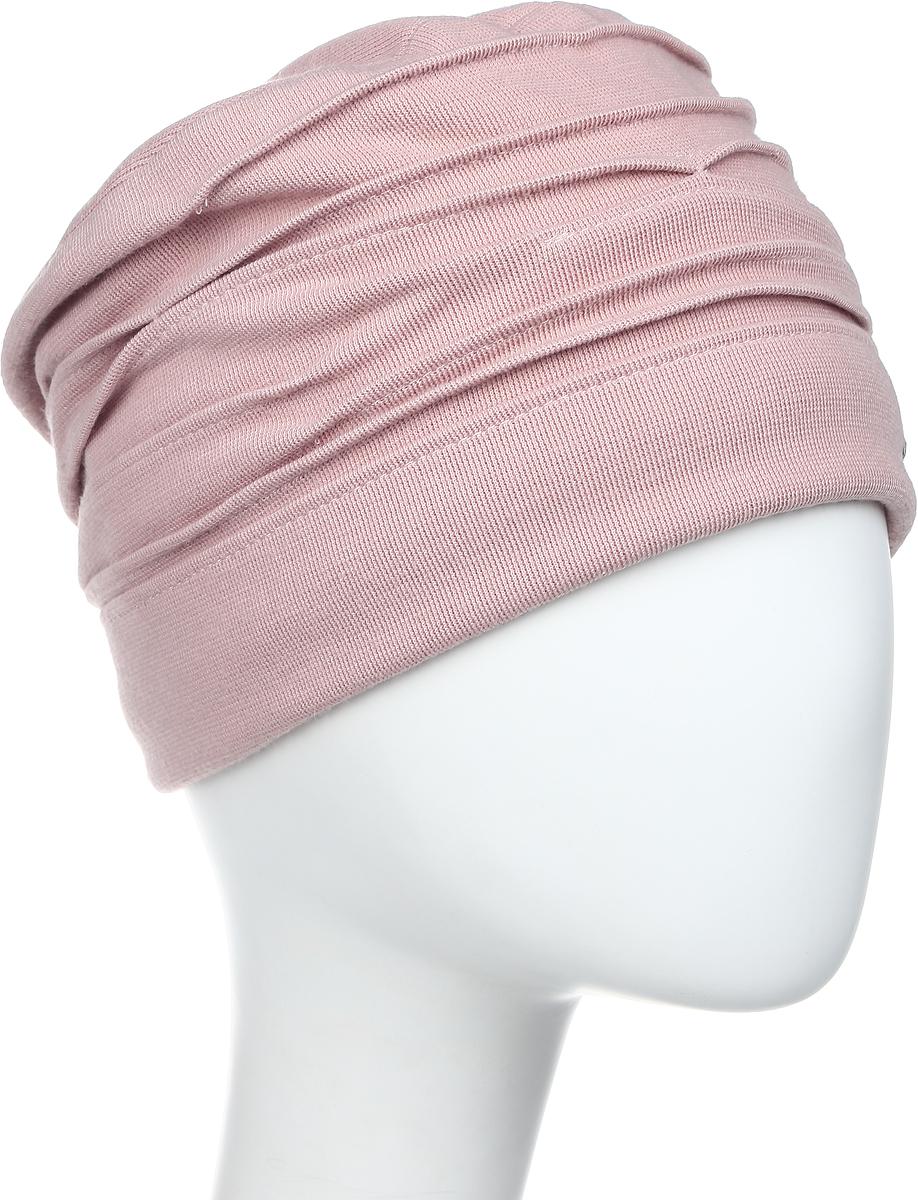 Шапка женская Level Pro, цвет: чайная роза. 403618. Размер 56/58403618Яркий и стильный головной убор не только станет прекрасным дополнением Вашего образа, но и согреет в холода. Оттенок и детали изделия могут отличаться от фотографии.