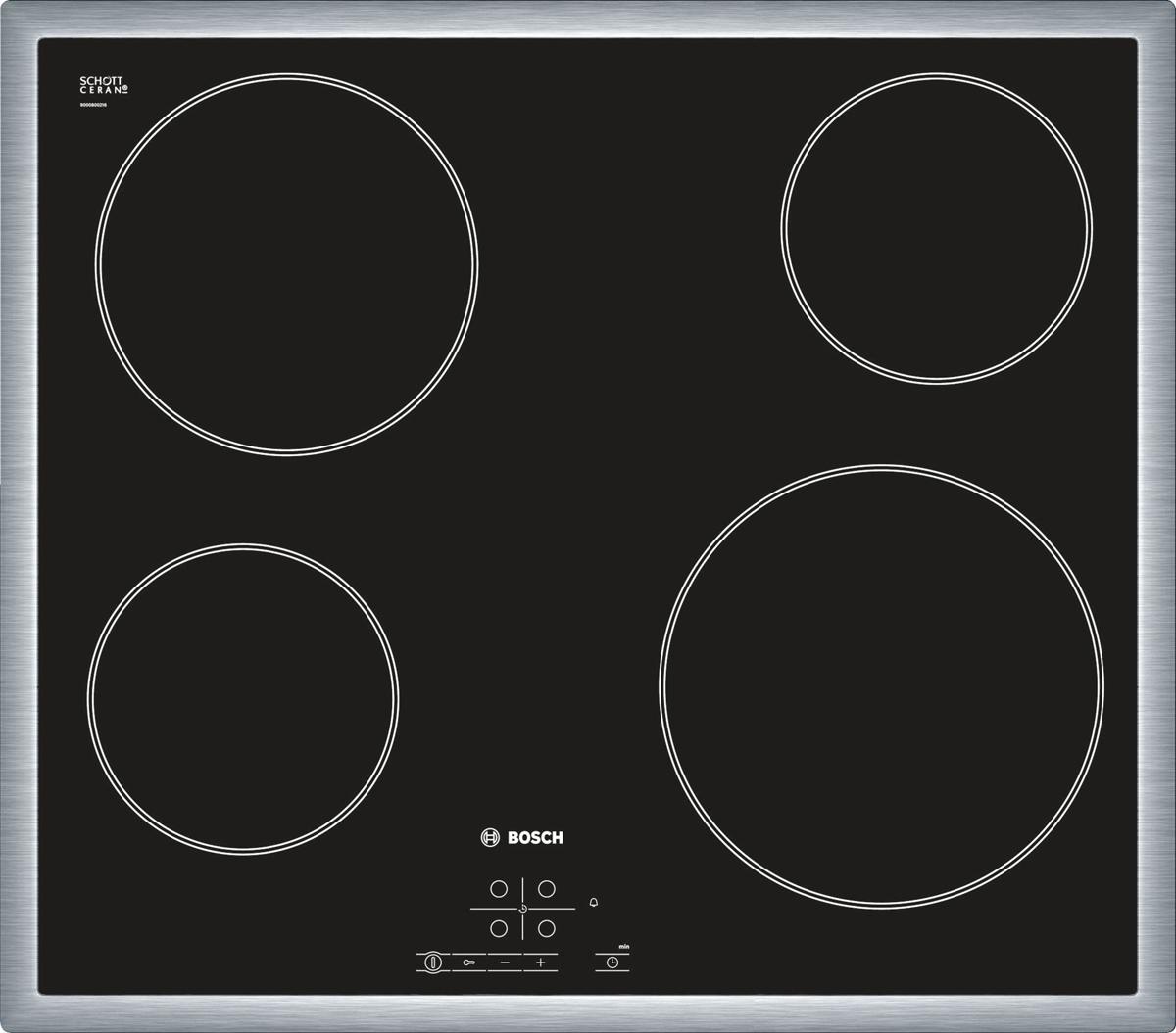 Bosch PKE645B17, Black варочная панель встраиваемая