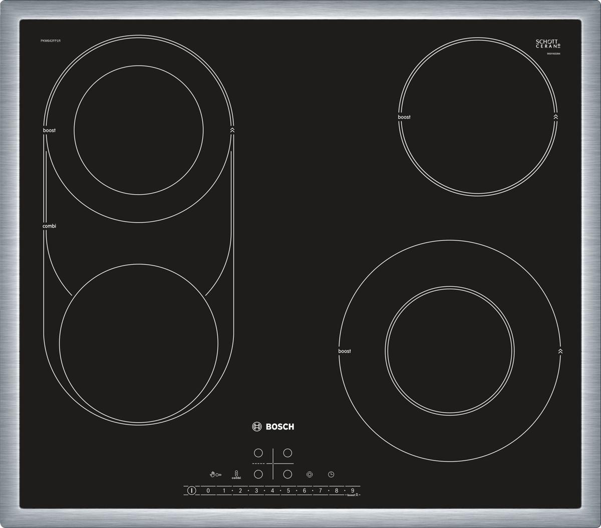 Bosch PKM645FP1R, Black варочная панель встраиваемая
