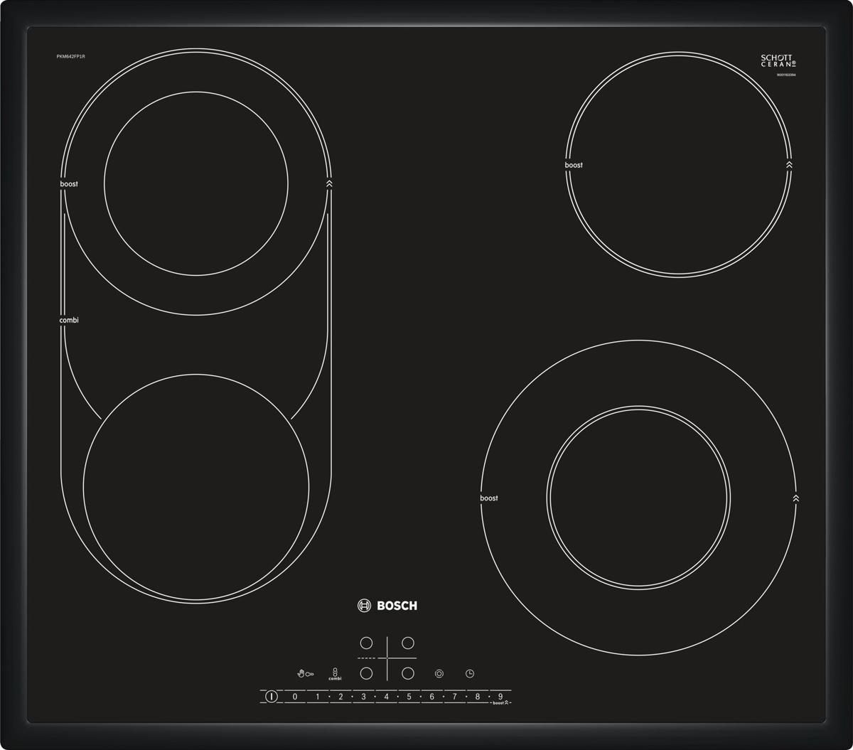 Bosch PKM646FP1R, Black варочная панель встраиваемая