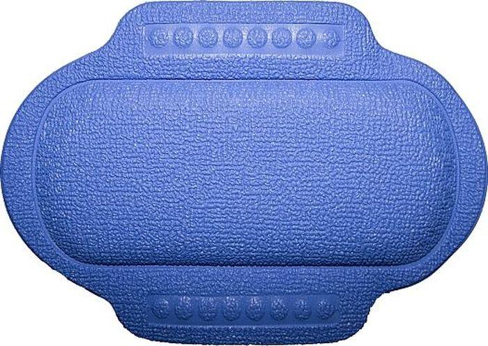 Подголовник для ванны Bacchetta, цвет: синий, 25 х 34 см1620Это изобретение для тех, кто любит понежится в ванной, кто может часы напролет проводить в царстве ароматных масел, солей и пены. Чтобы сделать процесс приема ванны еще более приятным и комфортным Bacchetta создали для вас удобный подголовник-подушку для ванной. Подголовник выполнен из высококачественного вспененного ПВХ с вакуумными присосками, которые обеспечивают надежную фиксацию подголовника на поверхности любой ванны или душевой кабины. Подголовник со временем не выцветает и не красится. Изделие призвано обеспечить комфортный прием ванны, а также может использоваться для обеспечения более безопасного купания малышей, как защита от ударов.