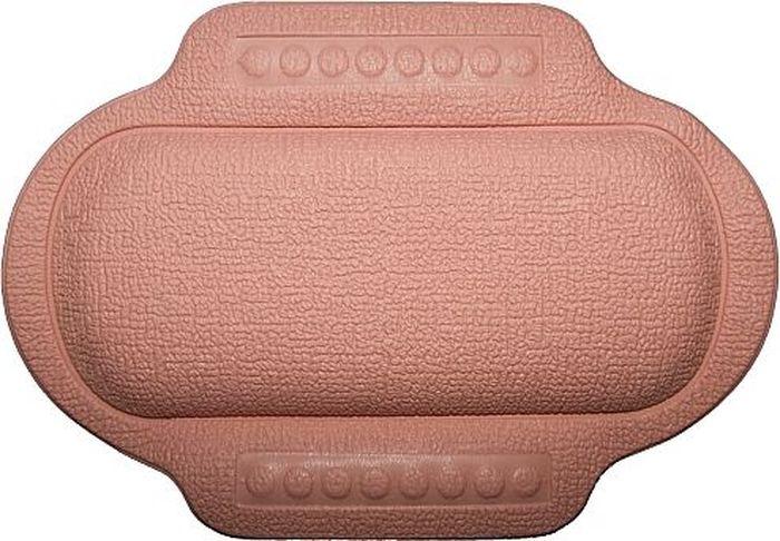 Подголовник для ванны Bacchetta, цвет: розовый, 25 х 34 см1621Подголовник для ванны Bacchetta подходит для тех, кто любит понежится в ванной, кто может часы напролет проводить в царстве ароматных масел, солей и пены. Подголовник выполнен из высококачественного вспененного ПВХ с вакуумными присосками, которые обеспечивают надежную фиксацию подголовника на поверхности любой ванны или душевой кабины. Подголовник со временем не выцветает и не красится. Изделие призвано обеспечить комфортный прием ванны, а так же может использоваться для обеспечения более безопасного купания малышей, как защита от ударов.